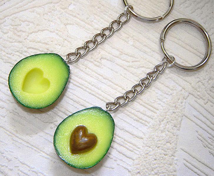 ключодържател авокадо